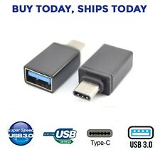 USB Type C USB-C to USB-A 3.0 Adapter for OTG MacBook, ChromeBook Pixel, S8, S9
