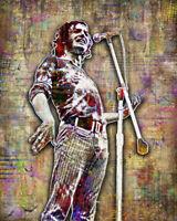 JOE COCKER 16x20inch Tribute Poster Joe Cocker Woodstock Print Free Shipping Us