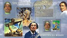 Painting of Salvador Dali Congo DR de Luxe s/s Yv. 1746 MNH #CDR0628b