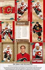 2005-06 Parkhurst by UD Calgary Flames Master Team Set (24)