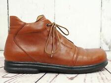 BIRKENSTOCK ☘ Stiefeletten Gr. 38 Damen Leder Braun Boots Shoes Schuhe