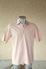 HUGO BOSS - Adorable camisa rosa mangas tamaño corto 39 - EXCELENTE ESTADO