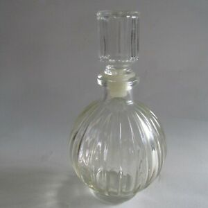 Unknown Vintage Glass Bottle with Stopper