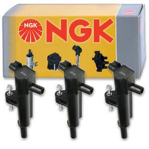 3 pcs NGK Ignition Coil for 2009-2011 Dodge Nitro 3.7L V6 - Spark Plug Tune lp