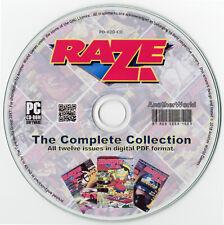 RAZE MAGAZINE Full Run on Disk Atari Lynx/7800/Sega Game Gear/Nintendo NES Games