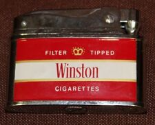 VINTAGE WINSTON CIGARETTES PENGUIN LIGHTER