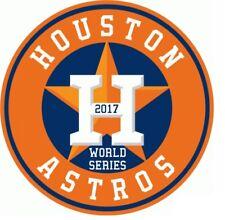Houston Astros WORLD SERIES 2017 car decal stocking stuffer bumper sticker