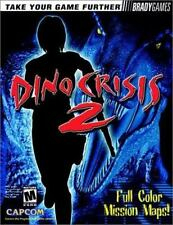 Dino Crisis 2 Official Strategy Guide by BradyGames Staff (2000, Paperback)