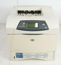 HP LaserJet 4250n Workgroup Network Monochrome Laser Printer 195K+ TPC Q5401A