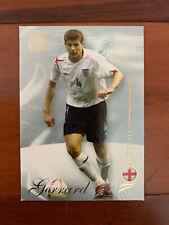2007 Futera World Football Soccer Card - England STEVEN GERRARD MINT
