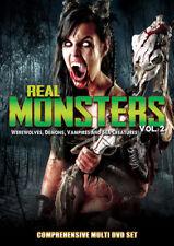 Real Monsters 2: Werewolves Demons Vampires & Sea [New DVD]