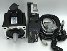 80mm 750W Servo Motor Driver Kit 2.4Nm Modbus Control 3M Encoder Cable Router