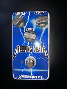 Custom Creeping Death Clone Overdrive Distortion Guitar Effects Pedal Metallica