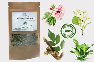 LUNGS TEA / Herbal tea Respiratory/Cold/Flu/Cough/Breathing problems/Boosting