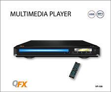 QFX VP-109 Home DVD/CD/MP3/USB Player +All Region-Free Multi-Zone (NTSC/PAL)