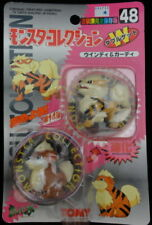 POKEMON TOMY ARCANINE GROWLITHE FIGURE POCKET MONSTERS #48 NEW JAPAN VERSION