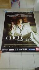 AFFICHE COCO AVANT CHANEL 4x6 ft Bus Shelter D/S Movie Poster Original 2009