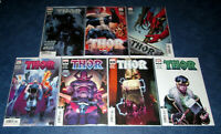 THOR 1 2 3 4 5 6 7 variant set 1st app BLACK WINTER DONNY CATES NM MARVEL COMIC