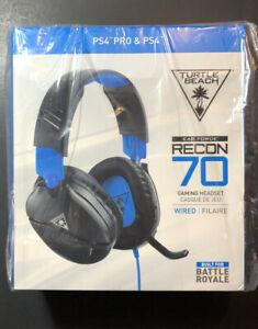 Turtle Beach Ear Force Recon 70 Juegos con Cable Auriculares Para PS4 [Negro] De