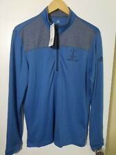 1 Nwt Adidas Men'S Pullover, Size: Small, Color: Blue/Gray (J62)