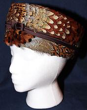 Original Vintage 1940s Feather Hat Charlotte New York
