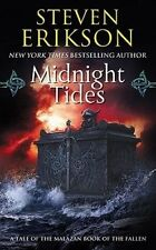 Malazan Book of the Fallen #5: Midnight Tides by Steven Erikson (2007, MM PB)
