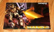 Halo 2 / Tom Clancy's Splinter Cell Pandora Tomorrow RARE Poster xbox 360 PS2