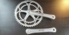 Campagnolo Chorus 10 speed alu crankset chainset 175 mm 53 39 VGC Record comp