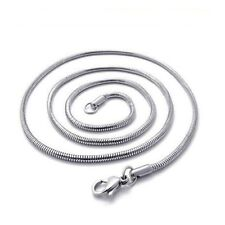 Men's/Women's Snake Necklace Stainless Steel 24inch Link Chain Fashion Jewelry