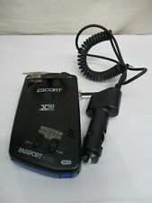 Escort Passport 8500 X50 Radar Detector + Charger Works Great Great Condition (M