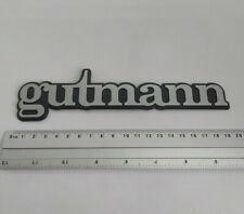⭐🇫🇷 NEUF MONOGRAMME GUTMANN pour COFFRE PEUGEOT 205 GTI LOGO BADGE EMBLÊME KIT