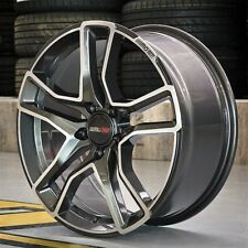 Motec MCT8 Diamond 8 x 18 Zoll ET 45 5x112 Dark Grey Polish für Audi Mercedes VW
