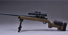 1/6 Scale Sniper Rifle Toy Gun Model Action Figure Weapon Collection M40 Gift