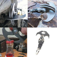 Gravity Hook Grappling Rope Survival Carabiner Folding Climbing Claw Outdo