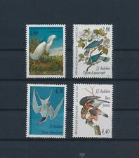 LO57259 France 1995 Audubon animals fauna birds fine lot MNH