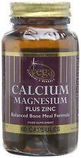 Vega calcio MAGNESIO + ZINC 60 Cápsulas