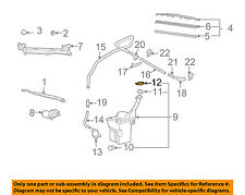 Scion TOYOTA OEM 04-06 xB Wiper Washer Fluid-Reservoir Tank Cap Lid 8531652130