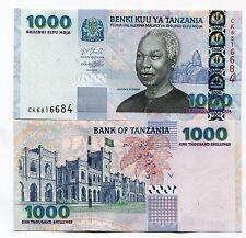 Tanzania 1000 Shillings 2006 Unc Paper Banknote Money P36