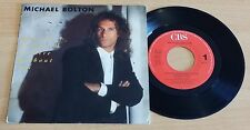 """MICHAEL BOLTON - HOW AM I SUPPOSED TO LIVE WITHOUT YOU -45 GIRI 7""""-HOLLAND PRESS"""
