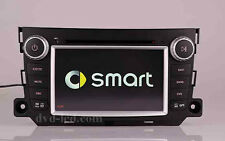 Smart Fortwo GPS Navigation system Car DVD  player Auto radio head units IPod