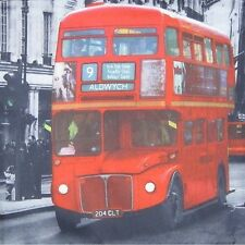 London Bus Cushion Cover 43cm X43cm Home Decor Furnishings