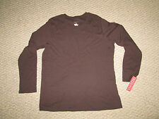 Womens Merona Plus Size Long Sleeve Shirts 1X  White Brown RED  2x Black NEW