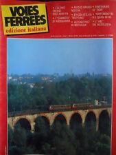 Voies Ferrees 27 1986 Storia E 333 Ultimo Trifase I Cammelli  - Gottardo in H0 N