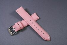 18mm Pink Patent Genuine Leather Watch Band,Strap,Interchangeable,Quick Release