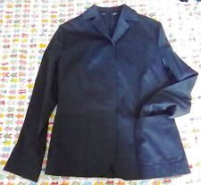 Navy Cotton Jacket. Size 10. Reduced!