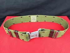 US Military Individual Equipment / Pistol / Web Belt LC-2 OD Green - Medium EUC