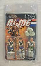 GI Joe Renegades 3-Pack SIGNED Sgt. Slaughter Joecon 2006 Ltd. 1000 MOC