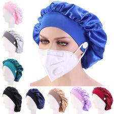 Surgical Caps Scrub Hat Doctor Nurse Elastic Bonnet Cap Wrap Cover Turban Unisex