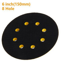 """Hook And Loop Vecro Backing Pad 150mm 6"""" For Sanding Discs & Polishing Bonnets"""