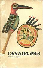 CANADA 1963 - REVUE OFFICIELLE DE LA SITUATION ACTUELLE ET DES PROGRES RECENTS